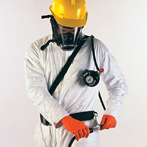 E-Z AIRLINE SUPPLIED AIR RESPIRATOR