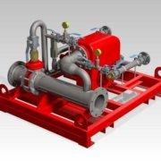 Chemguard Balanced Pressure Proportioning Pump Skid
