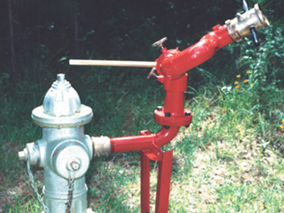 Hydrant Monitor Stand