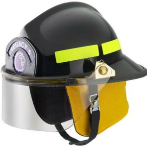 Lower Profile Firefighter Helmet