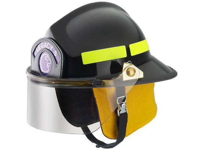 Lower Profile Firefighter Helmet