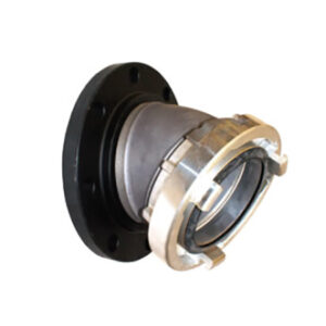 Raised Face Flange Storz Adapters: 30 DEGREE ELBOW