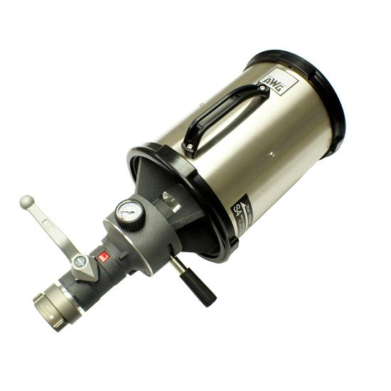 Selectable heavy medium foam nozzle sos safety