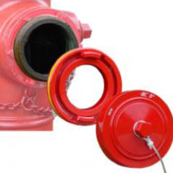 Storz Hydrant Converter w/ Hydrant Nut Cap