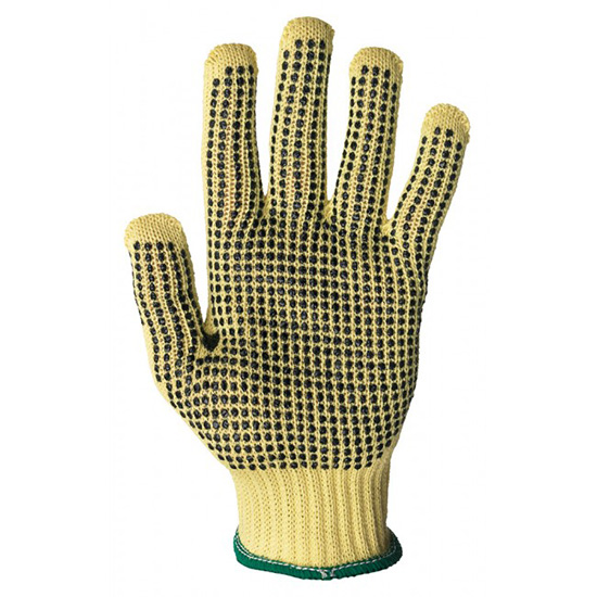 7 Gauge Dotted ShurRite Knit Glove