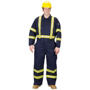FR Insulated Coverall with Reflective Trim