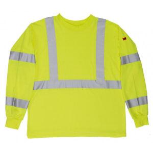 Long Sleeve Crew Neck Class 3 FR Knit Shirt