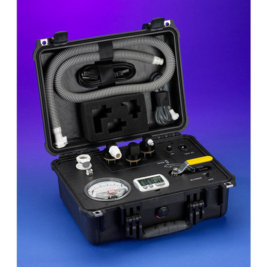 Universal Test Kit with Integrated Air Compressor